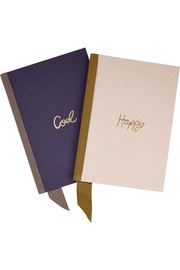 Lanvin Set of two notebooks