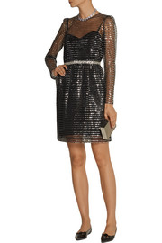 Marc Jacobs Embellished tulle dress