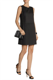 Marc Jacobs Pleated wool and mohair-blend mini dress