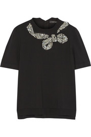Marc Jacobs Embellished wool-blend sweater