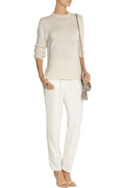 Adam Lippes Silk and cashmere-blend sweater