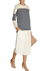 Adam Lippes Striped cotton top
