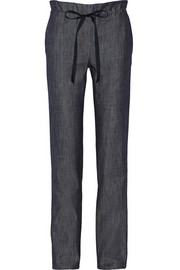Adam Lippes Denim straight-leg pants