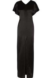 Adam Lippes Silk-satin maxi dress