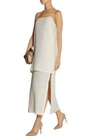 Adam Lippes Layered crepe dress