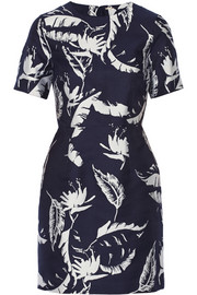 Adam Lippes Jacquard mini dress