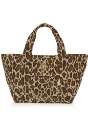 Charlotte Olympia Ami leopard-print canvas tote