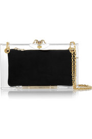 Dora Perspex shoulder bag