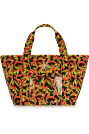 Ami printed canvas tote