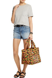 Charlotte Olympia Ami printed canvas tote
