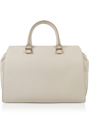 The Victoria matte-leather tote
