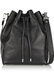 Proenza Schouler Bucket large textured-leather shoulder bag
