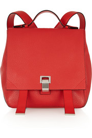 Proenza Schouler Courier small textured-leather backpack