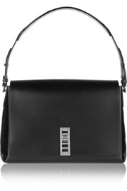 Proenza Schouler Elliot leather and suede shoulder bag
