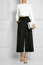 Proenza Schouler Elliot leather and suede clutch