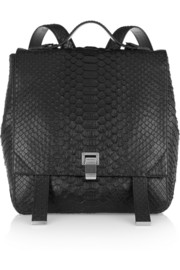Proenza Schouler Courier python backpack