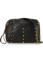 Sugar mini embellished leather shoulder bag