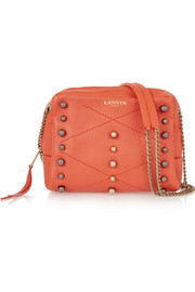 Sugar mini studded leather shoulder bag