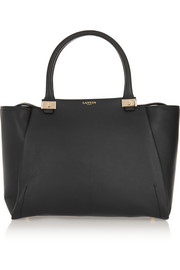 Trilogy leather tote