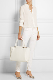 Lanvin Trilogy leather tote