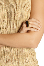 Maiyet Gold-plated horn ring