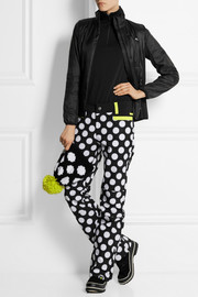 House of Holland + Roxy polka-dot Dry Flight shell ski pants