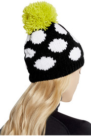 House of Holland + Roxy polka-dot knitted hat