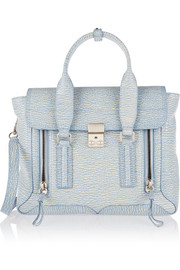 3.1 Phillip Lim The Pashli medium textured-leather trapeze bag