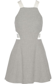 Elizabeth and James Kayne textured-knit mini dress