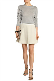 Elizabeth and James Alanis textured stretch-knit mini skirt