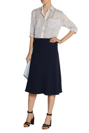Elizabeth and James Emmanuelle striped gauze shirt