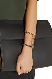 Jennifer Fisher Handcuff gold-plated cuff