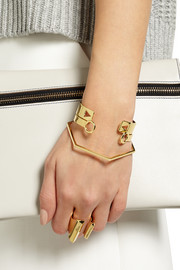 Jennifer Fisher Perfect Hexagon gold-plated bangle