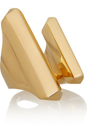Jennifer Fisher Prism gold-plated ring
