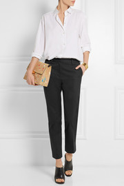 3.1 Phillip Lim Pencil stretch cotton-blend tapered pants