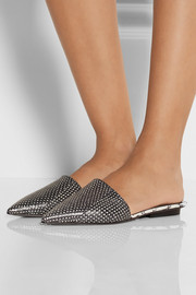 Narciso Rodriguez Athena watersnake point-toe flats