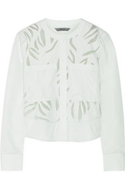 Maiyet Appliquéd cotton top