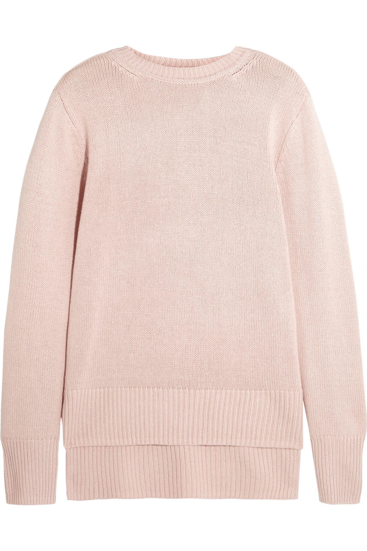 Adam Lippes Silk and cashmere-blend sweater