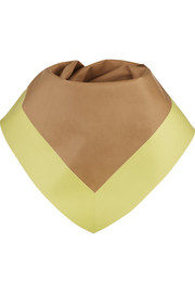 Gucci Two-tone leather scarf