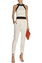 3.1 Phillip Lim Cropped stretch-knit top