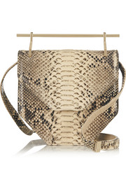 Amor Fati python shoulder bag
