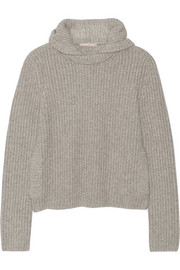 Michael Kors Hooded cashmere sweater