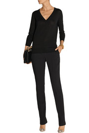 Michael Kors Cutout wool, cashmere and silk-blend sweater