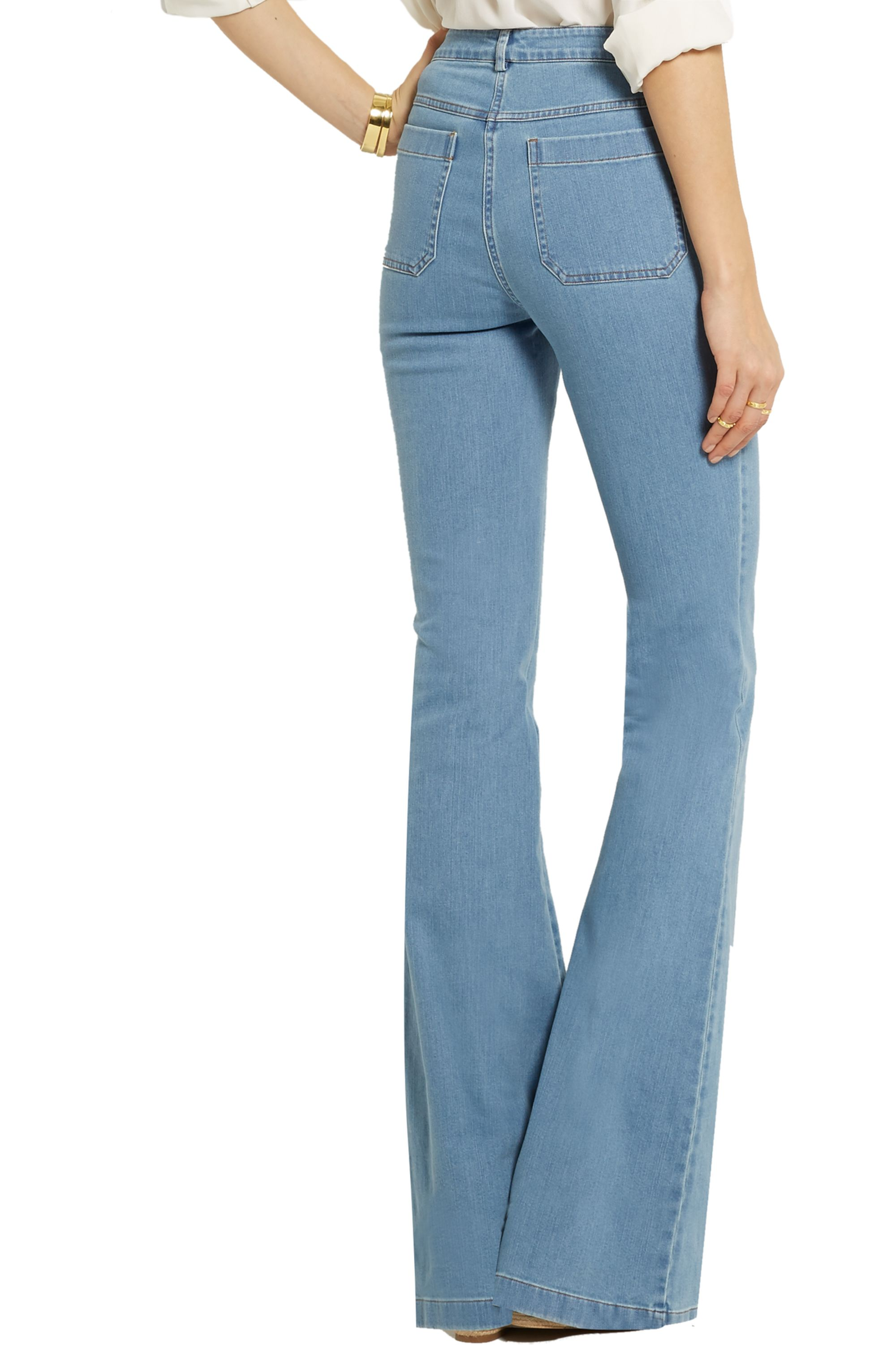 Michael Kors Collection High-rise flared jeans