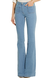Michael Kors High-rise flared jeans