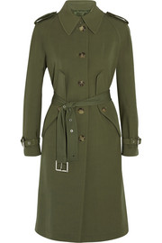 Wool-gabardine trench coat