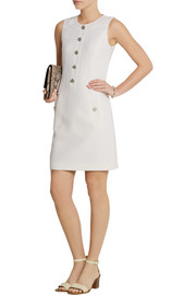 Michael Kors Stretch-wool crepe mini dress