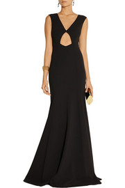 Michael Kors Cutout stretch-wool gown