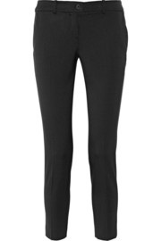 Samantha stretch-wool flannel skinny pants