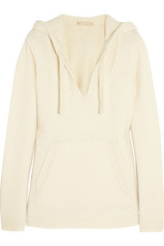 Michael Kors Hooded wool-blend sweater